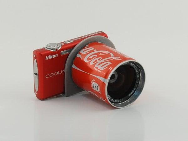 Coke Fisheye Lens.