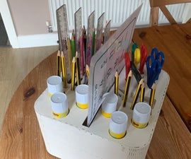 Ultimate Classroom Table Organiser