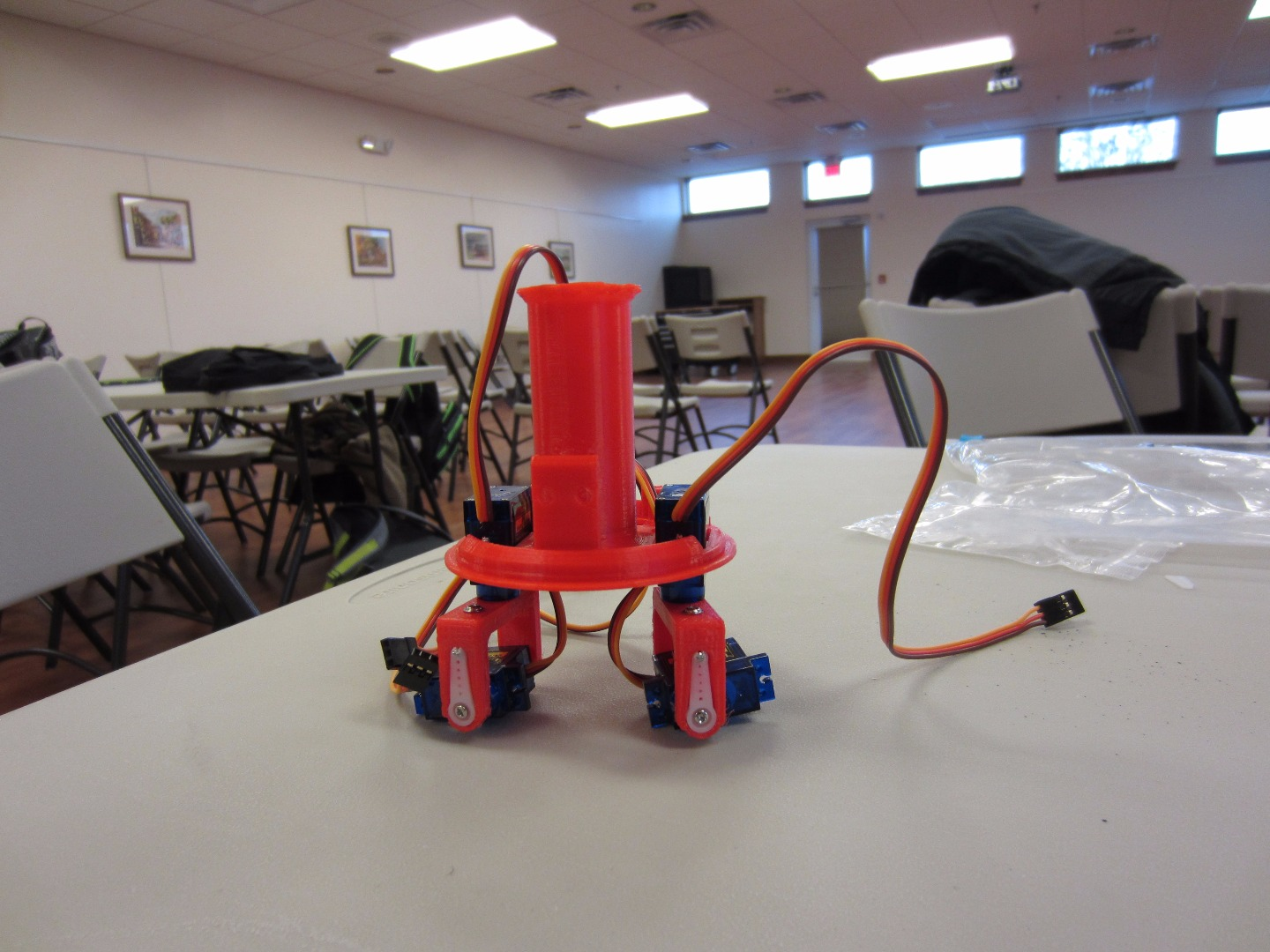 Picture of Building - Attach Legs to Body