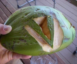 How to Open and Drink a Coconut