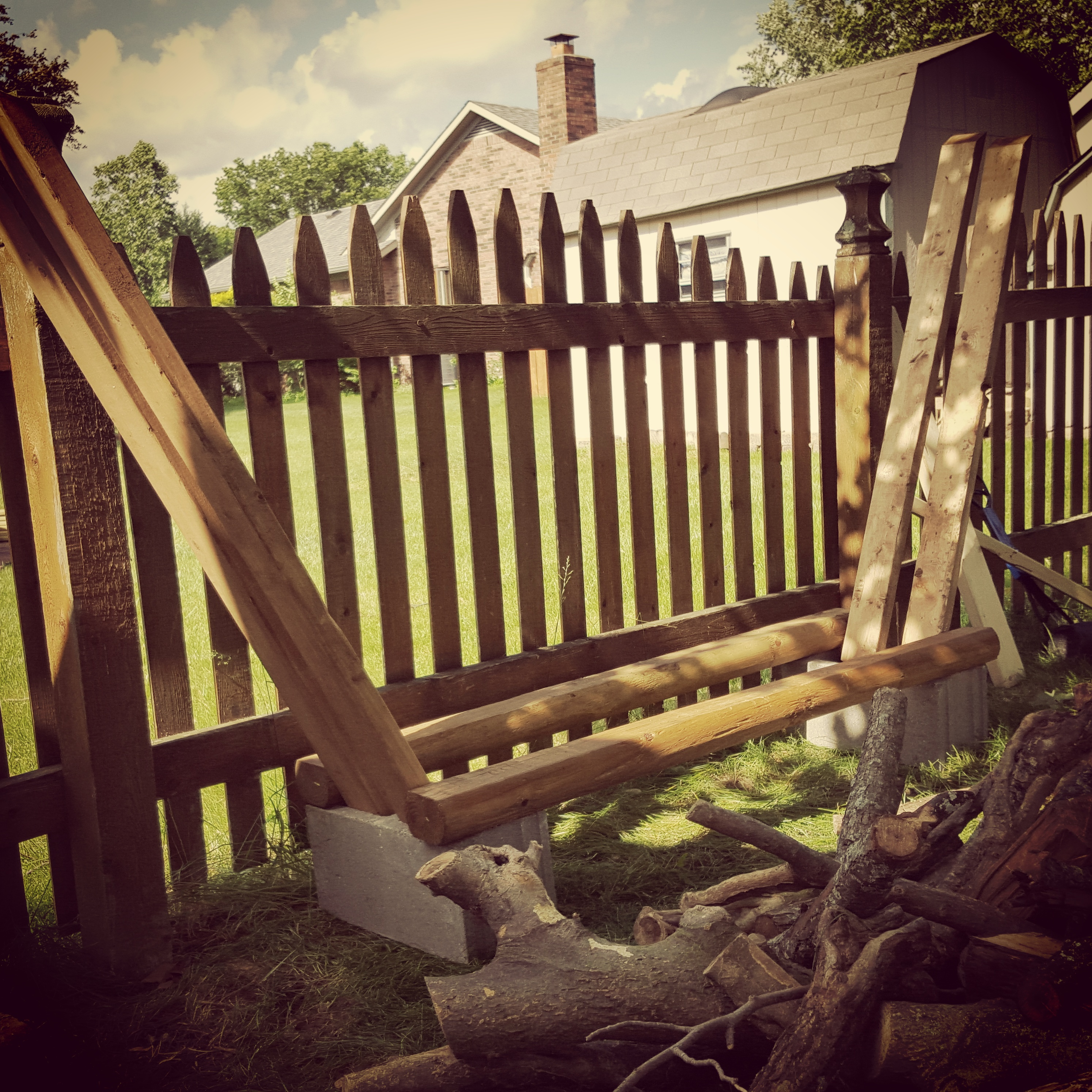 Picture of Firewood Rack Made Simple