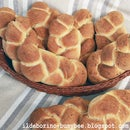 Garlic and Thyme Plaited Bread
