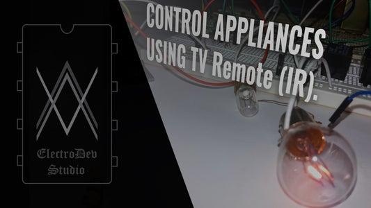 Control Appliances Using TV Remote