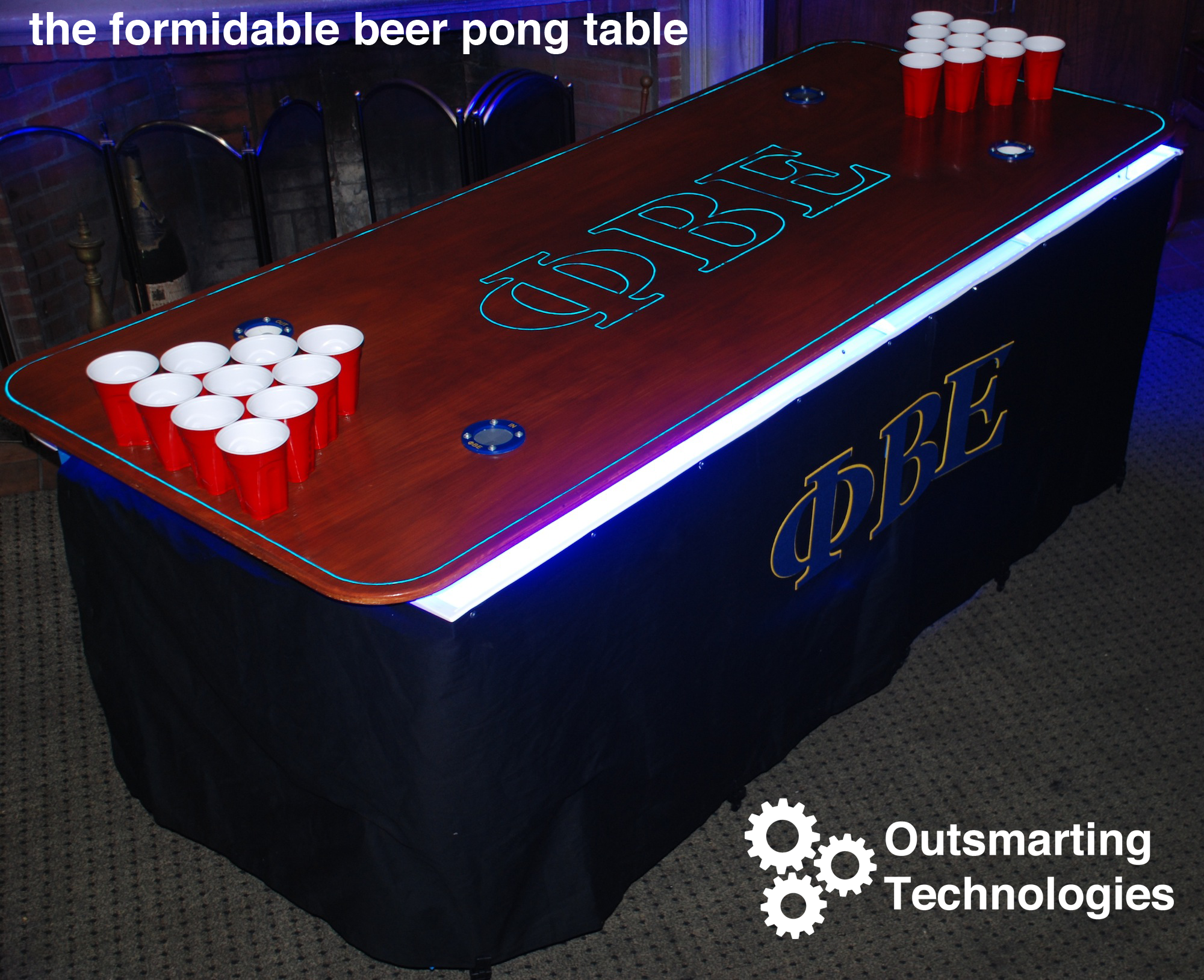 Beer pong table dimensions - How To Make The Best Beer Pong Table On Campus