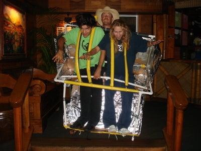 Roller Coaster Costume 2009