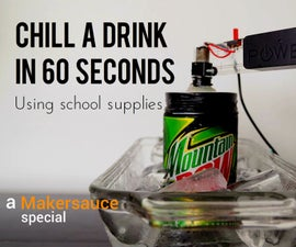 Student hacks: Sub zero any drink in 60 seconds with this gadget