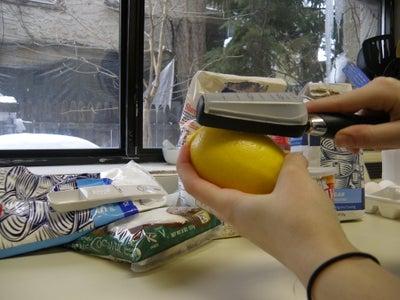 How to Pick/Zest a Lemon