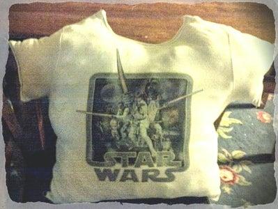 Vintage T-shirt Pillows