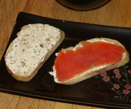 Spread for serving with Smoked Salmon