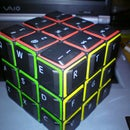 How to make a QWERTY Rubik Cube's