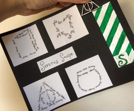 DIY : Severus Snape Art