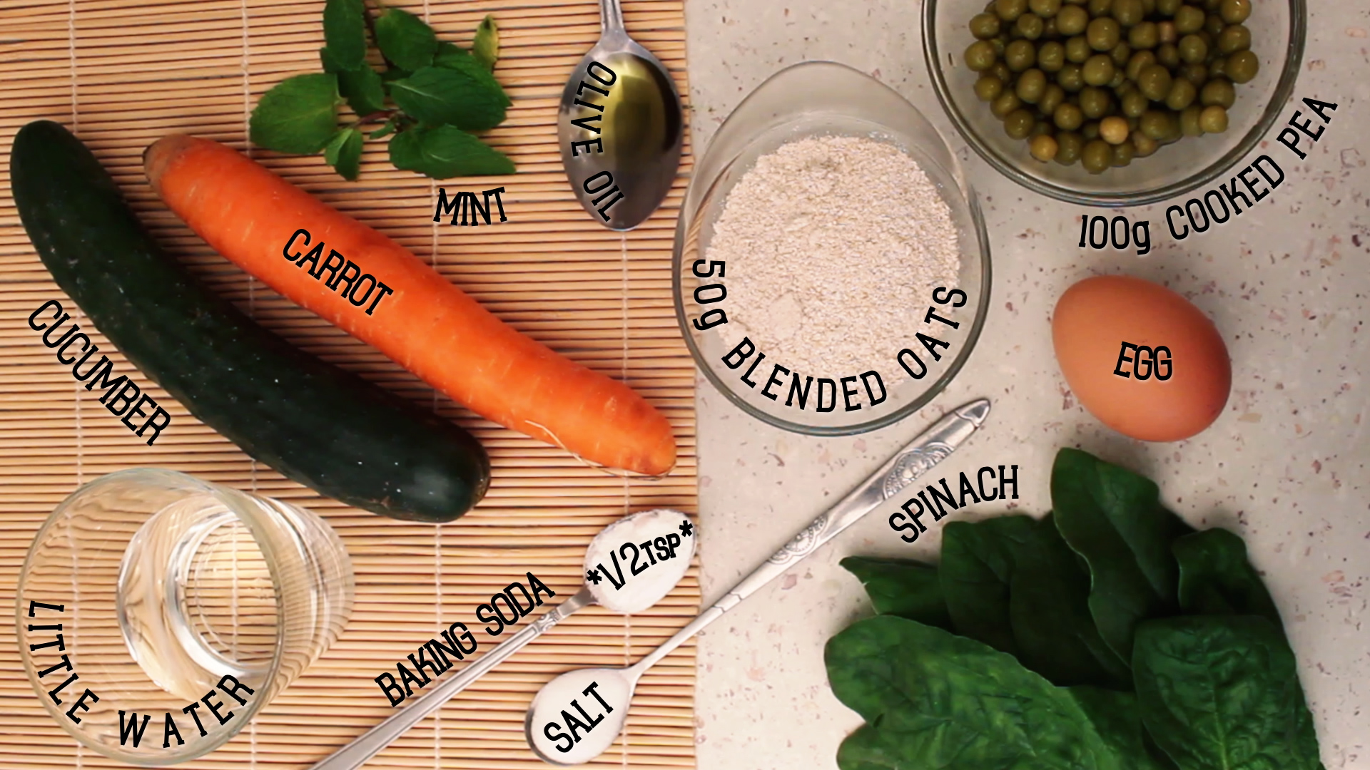 Picture of INGREDIENTS (for 2 Servings)