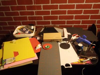 Get the Basics (drawings, Materials, Tools, Etc)