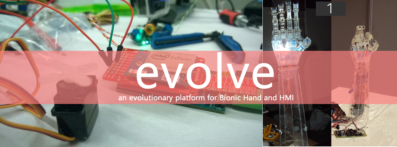 Picture of Evolve - a Platform for Bionic Hands and HMIs (Intel IoT)