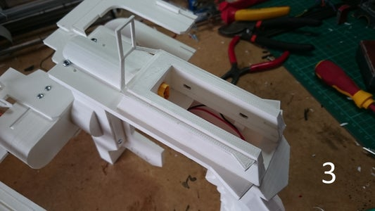 Assembly: Fitting Top Plate, Mag Housing, Arch and Bottom Plate