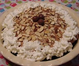 Boardwalk Malted Milk-Marshmallow Cream Pie
