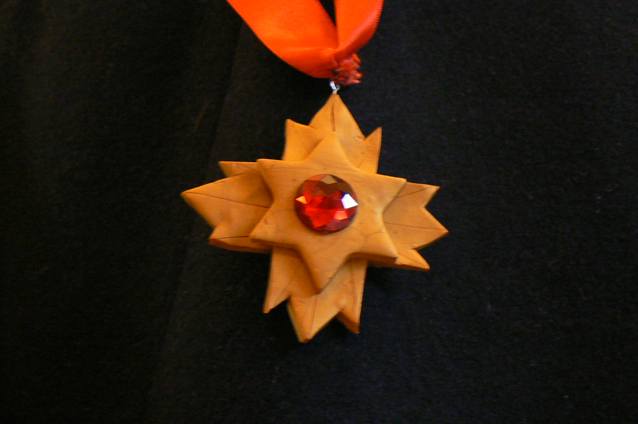 Picture of Polymer Clay Dracula Medallion!