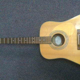 Homemade Cutaway Guitar - of an Existing One!