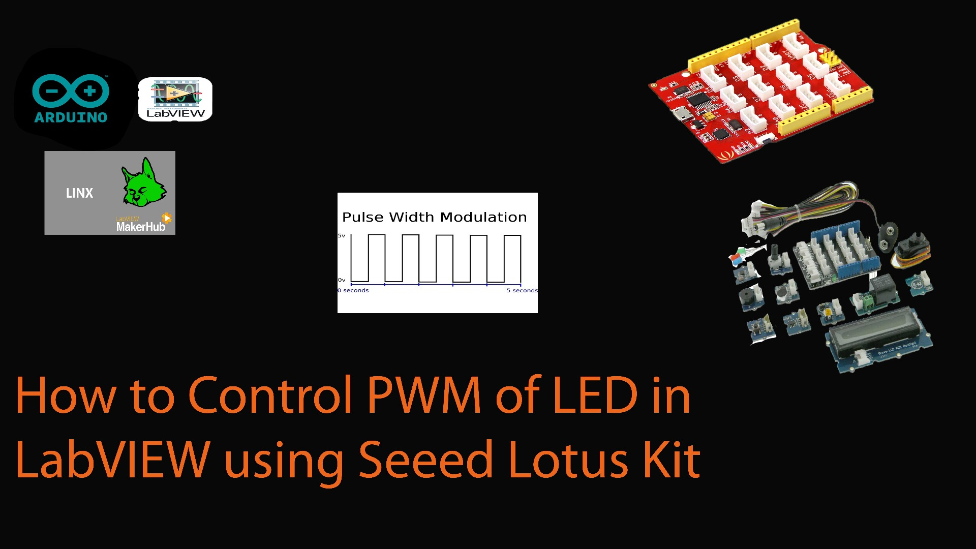 Picture of How to Control an LED Brightness Using PWM From LabVIEW