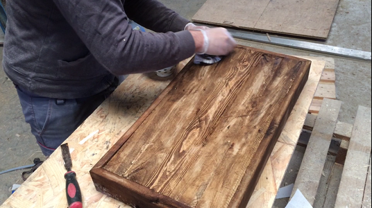 Wood Assembly and Finishing