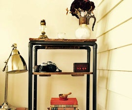 """Steel Pipe"" Bookcase"