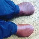 Viking Leather Turnshoes
