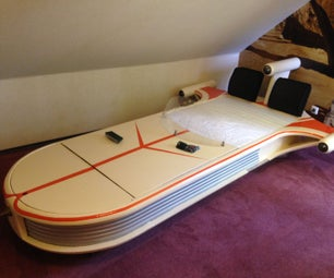Star Wars X-34 Landspeeder Bed