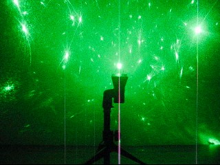 Picture of Diamond Ring Laser Light Show - SKYlasers Instructable