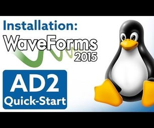 How to Install WaveForms 2015 in Linux