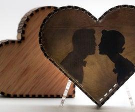 Silhouette Heart Box