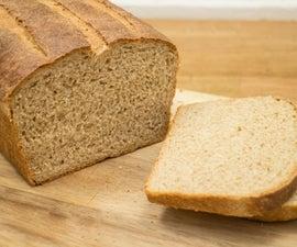 Whole Wheat Sandwich Bread