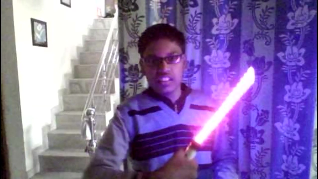 Picture of DIY Star Wars LightSaber ( Bi-Colored )