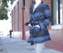 DIY Robe Coat - With Pattern!