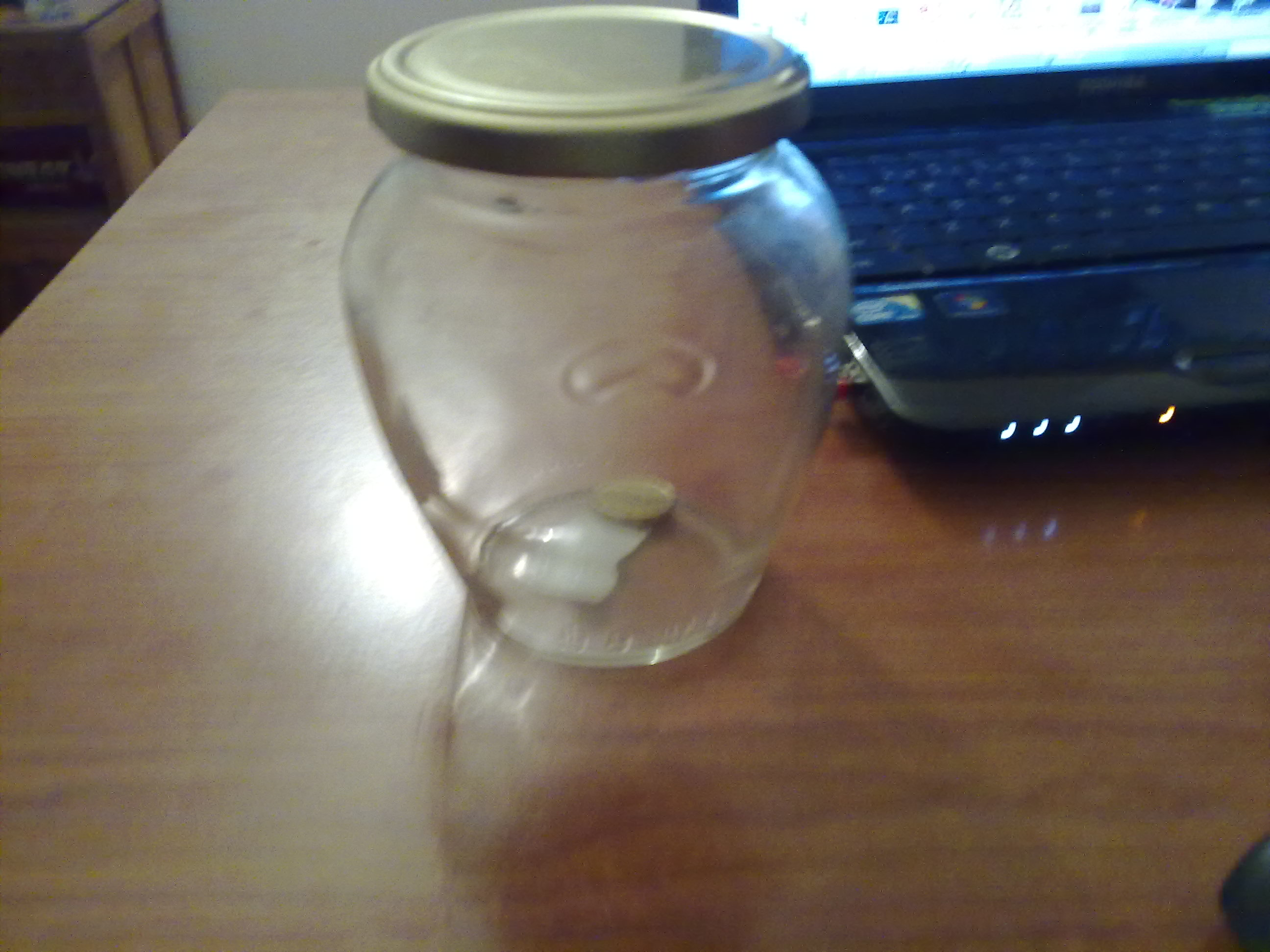 Picture of Coin Crossing Bottle