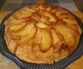 Upside-down Baked Apple Pancake