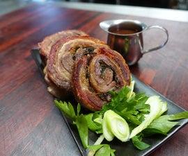 BBQ Lamb Roulade