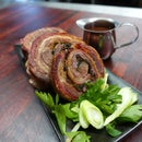 BBQ Lamb Roulade