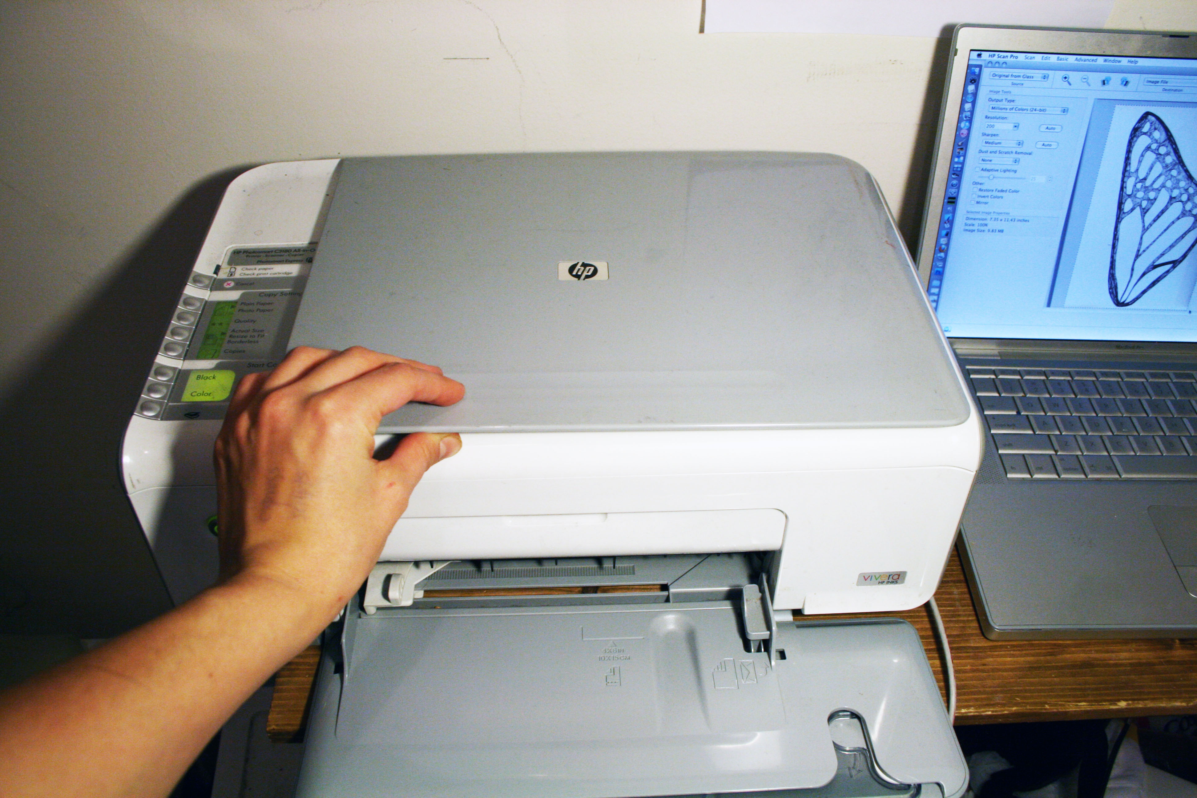 Picture of Scanning With Photoshop