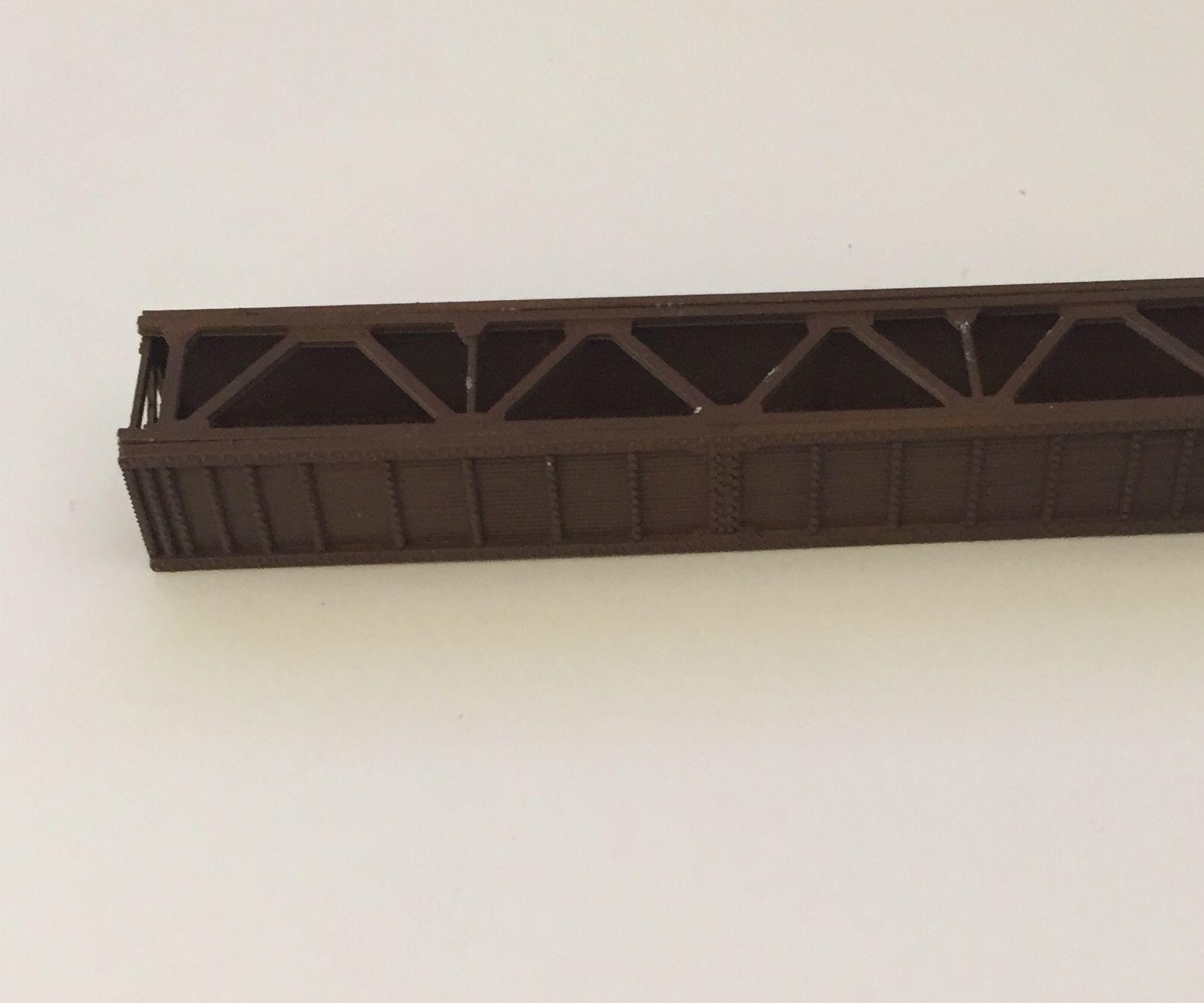 Building a 1:160 (N) Scale Model of a Plate Girder Railroad