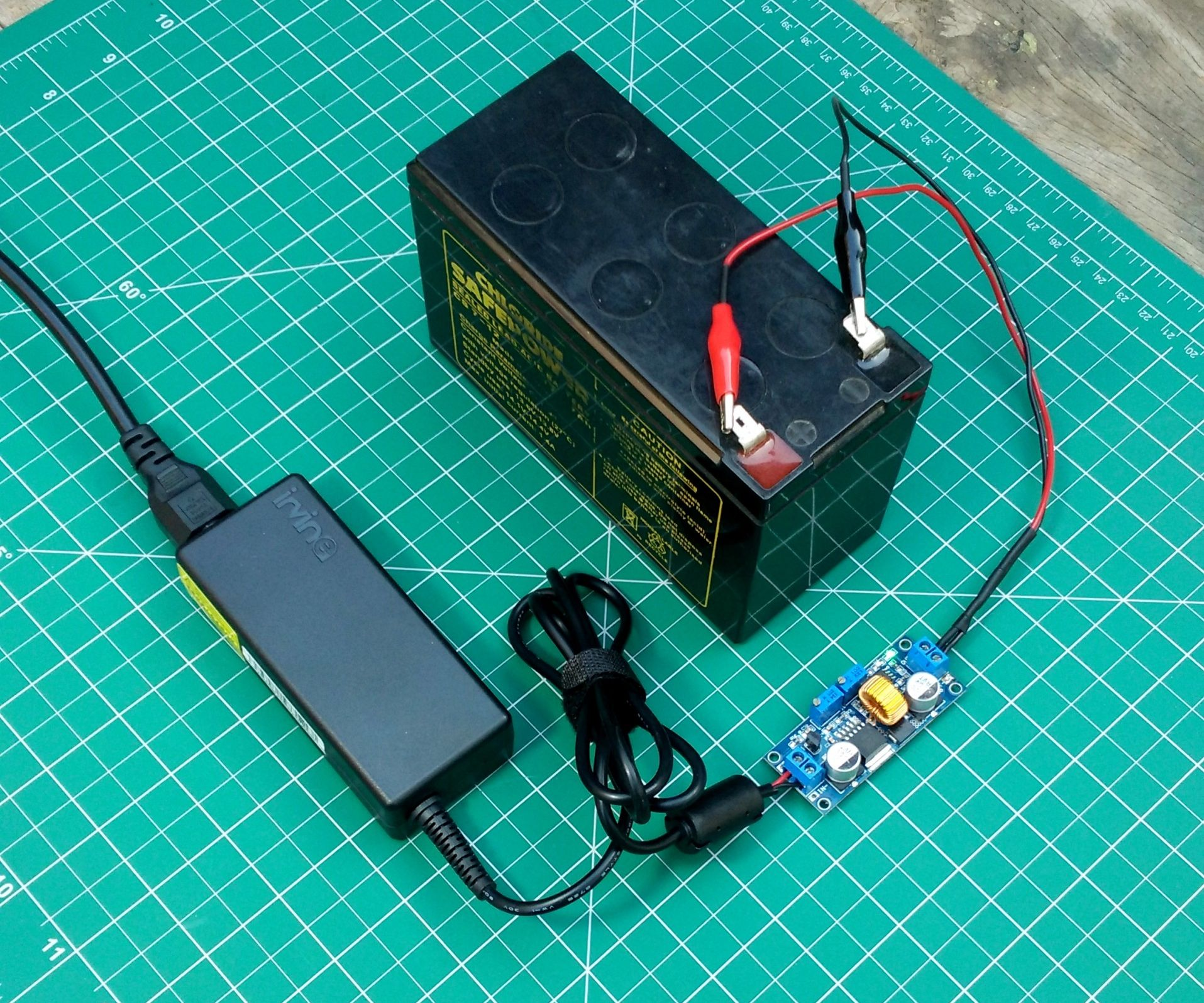 How To Make A 12v Battery Charger 5 Steps With Pictures