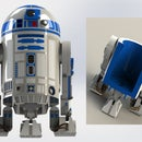 3 Feet Realistic R2D2 Homie - Mobile Toy Storage