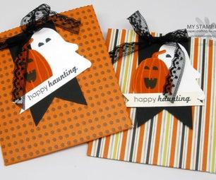 How to Make Cute Halloween Treat Favors