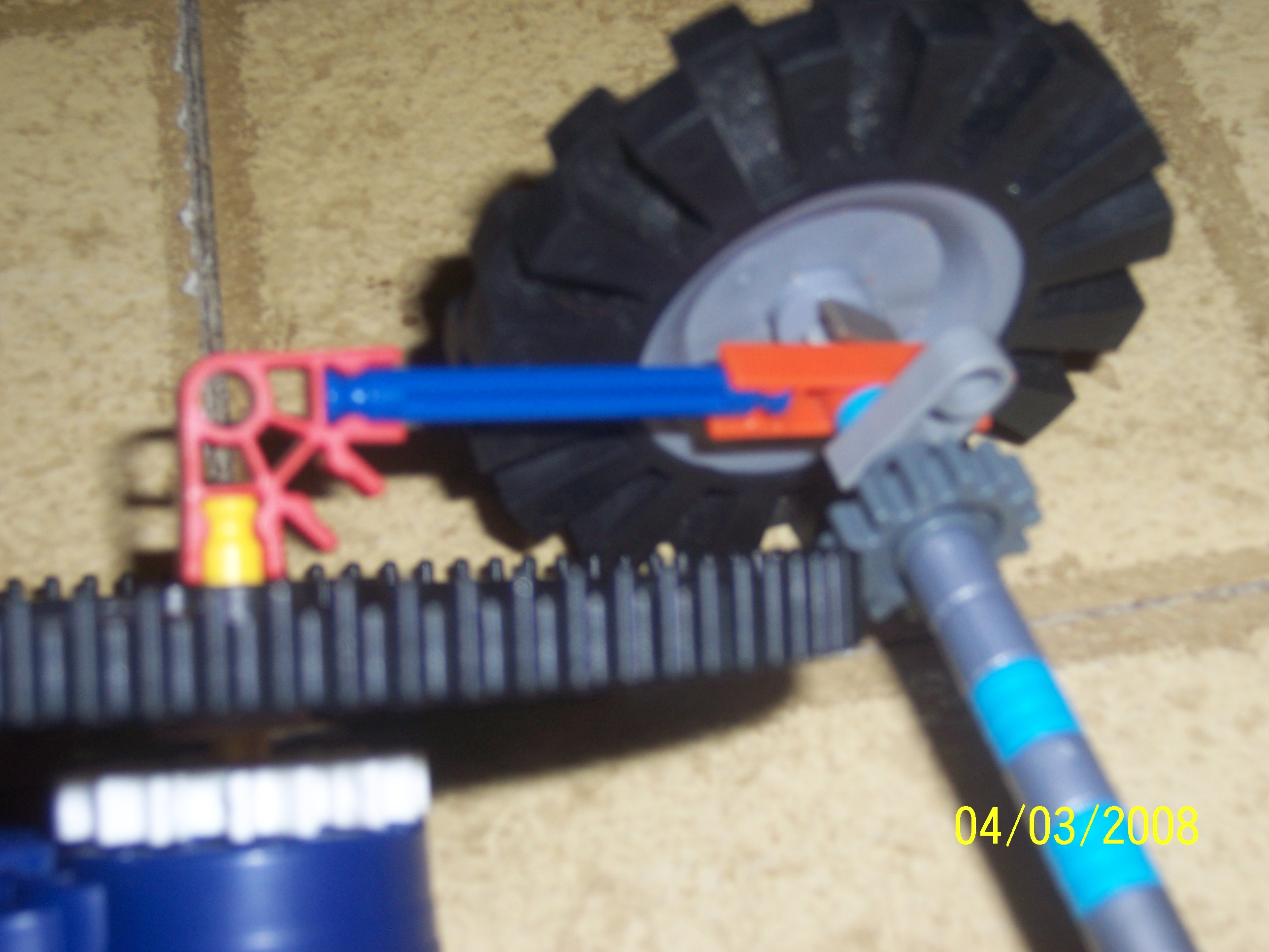 Picture of Connect the Gearshaft and Axle!