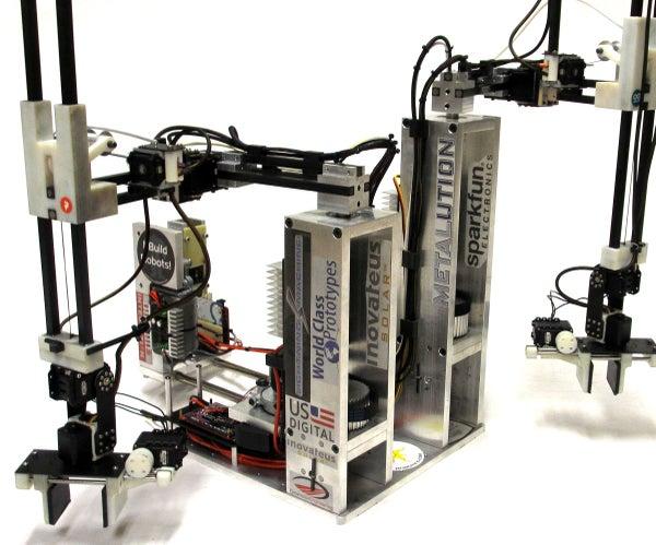 Robotic Arm Trifecta (Science Olympiad)