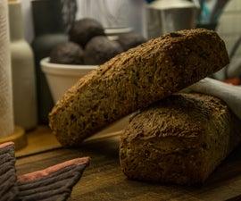 Easy No Kneed Healthy Bread