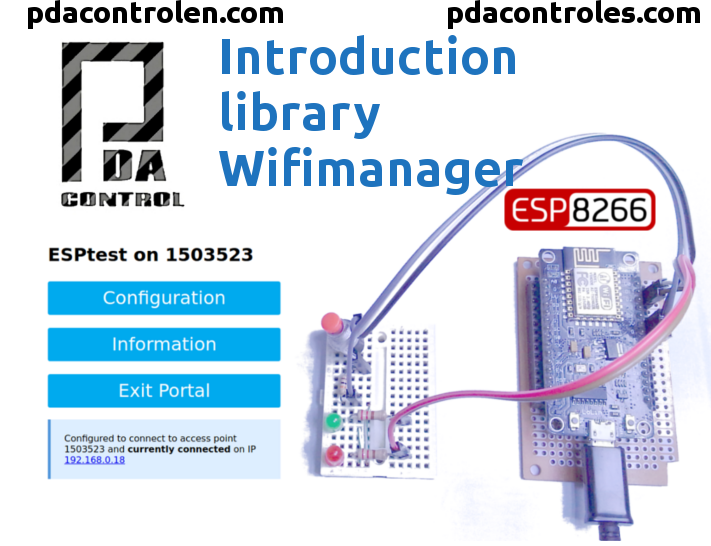 Picture of Introduction Library WifiManager for Esp8266