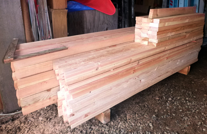 Picture of Pre-cut the Lumber
