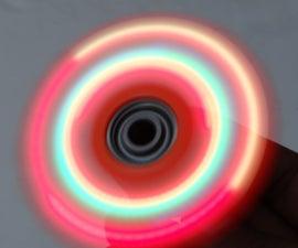 Motorized LED Fidget Spinner