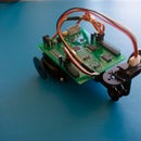 Distance Keeping robot with the Smart Servo Controller