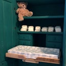 Hideaway Baby Changing Table